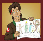 ALL FOUR Real Ghostbusters...by Peter