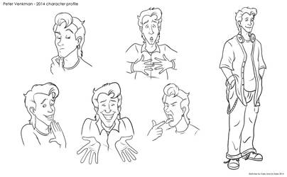 Peter Venkman - 2014 Character Profile by TDotBabs