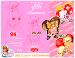 2018 St Valentine YCH Commissions are OPEN!!