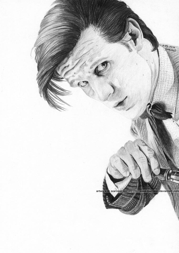 Matt Smith - Eleventh Doctor by Szaroket