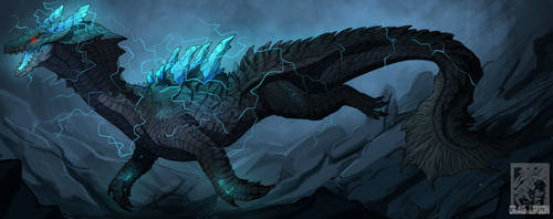 Abyssal Lagiacrus by CraigLipson