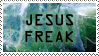 Jesus Freak Stamp by GreenEyezz
