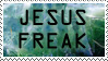 Jesus Freak Stamp V2 by GreenEyezz