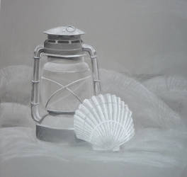 Latern and Shell by GreenEyezz