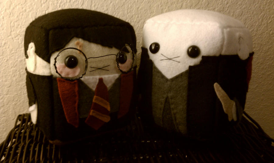 Sugarcubes: HP and Voldy by sugarcubeanimals