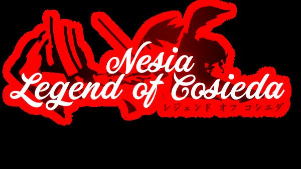 Nesia Legend of Cosieda Logo by MikeAllenCreates