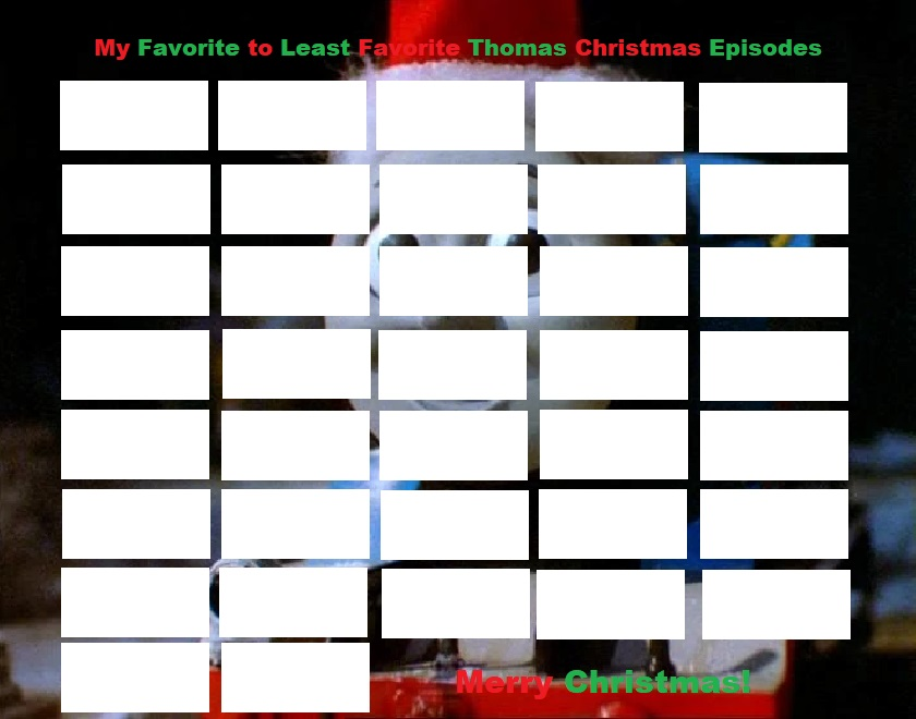 Friends Christmas Episodes.My Favorite Thomas And Friends Christmas Episodes By