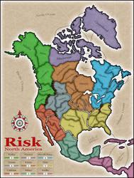 Risk: North America by managuni