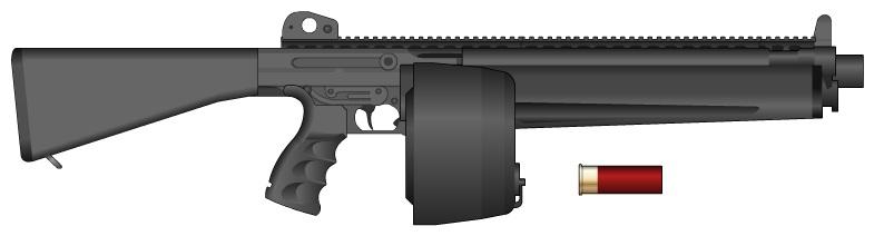 Rc 614 Riot Shotgun By Machinegunslade On Deviantart