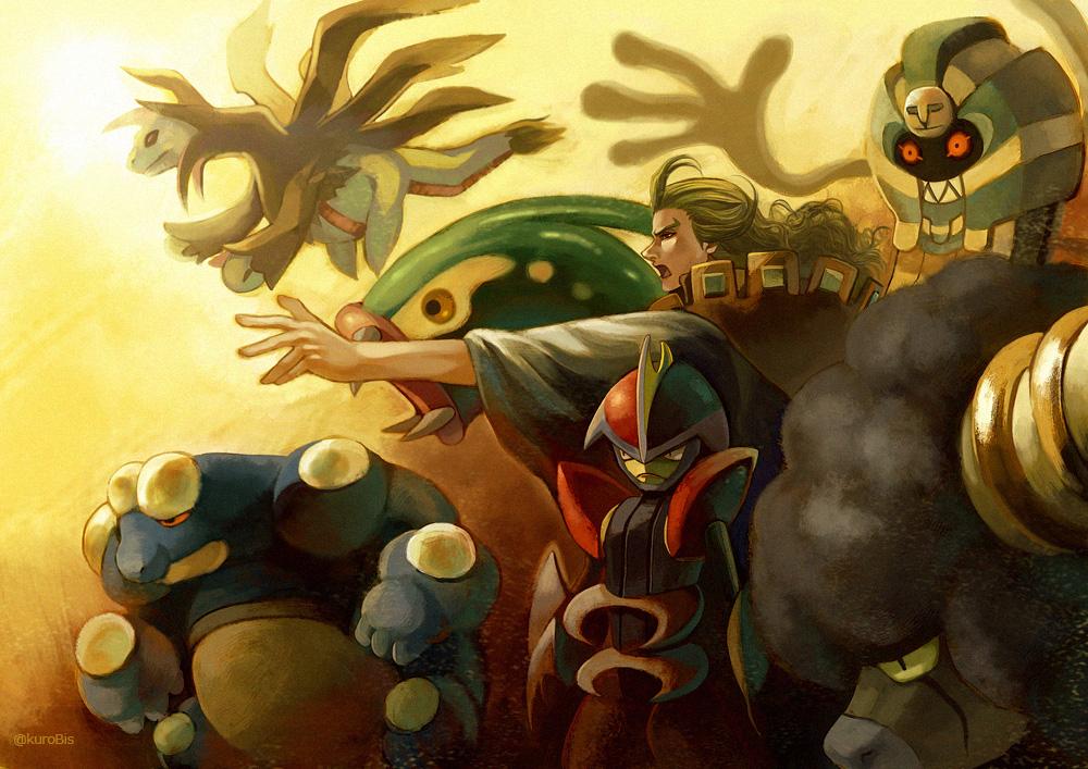Ghetsis's Pokemon by rekuroBis