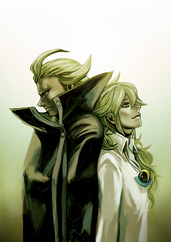 N and Ghetsis by rekuroBis