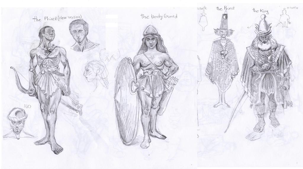 ancient civ sketches by niconosave