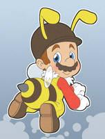 Bee Mario by Momogirl