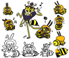 Bee Concepts by Momogirl