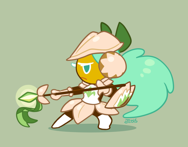 Pistachio Cookie by Momogirl