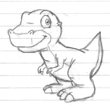 2020 Other | Images: Land Before Time Chomper Coloring Pages