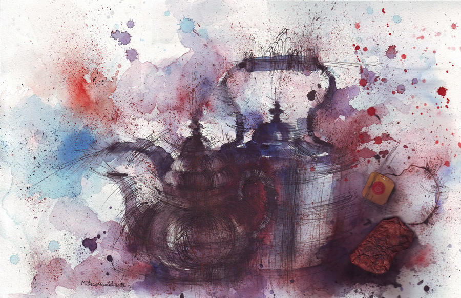 Tea time by MarinaVeselinovic
