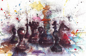 Chess by MarinaVeselinovic