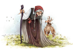 Old Witch by MarinaVeselinovic