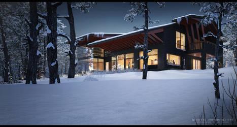 Winter dwelling 01 by WhiteMammoth
