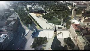 Freedom Square 01 3D VISUALIZATION