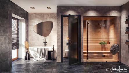 Taime Bathroom/Sauna