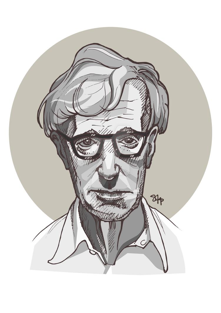 Woody Allen by jade-starck