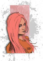 PinkHot Angel as Pink! :)