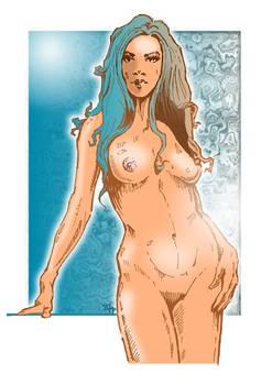Comic girl - hot