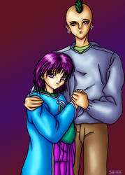 The Happy Couple by saine
