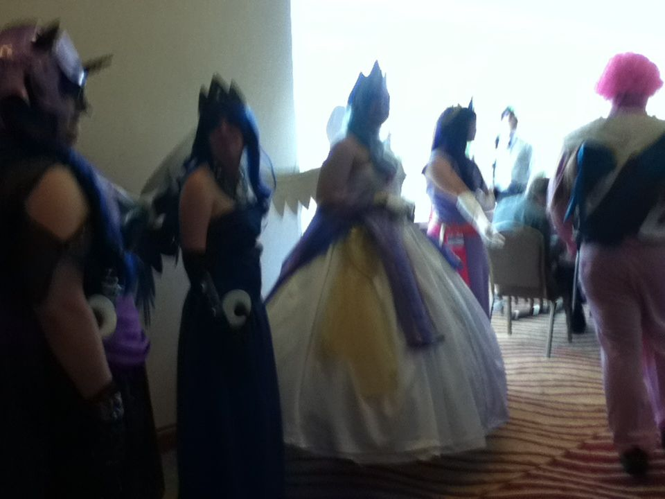 Princess Cosplay group at EFNW 2013 by TaionaFan369