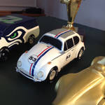 Pinewood Derby Herbie by TaionaFan369