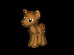 MnM Ponies - Pretzel by TaionaFan369