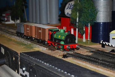 LMS Peckett 3 by TaionaFan369