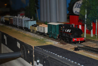 Another LMS Peckett by TaionaFan369