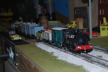 Another LMS Peckett 2 by TaionaFan369