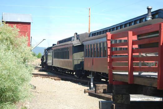 First Train at McEwan