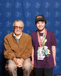 Me And Stan Lee by TaionaFan369
