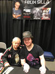Me and Felix Silla by TaionaFan369