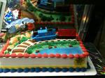 Thomas Cake close-up by TaionaFan369