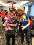 Me and Tara Strong  by TaionaFan369