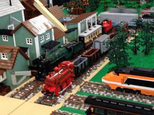 Lego European Trains