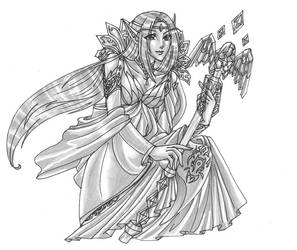 Gaia Commission Blood Elf by justinedarkchylde