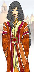 Vrei robes colored by justinedarkchylde