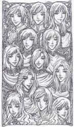 Inked Sketch - House of Wrath by justinedarkchylde