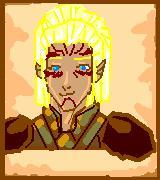Talaerion Portrait Pixel by justinedarkchylde