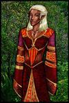 Old Art 1: Zevran in Robe by justinedarkchylde