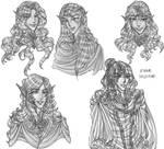 Recovered Tolkien Guild Art 3 by justinedarkchylde