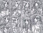 Ornate Art 3 by justinedarkchylde