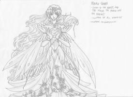 Queen Terra by justinedarkchylde